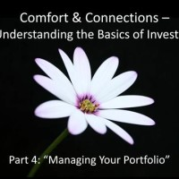 Comfort and Connections Series Part 4: Managing Your Portfolio | W\O/W Webinar (20 Sep 2012)